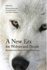 A New Era for Wolves and People. Wolf conservation book illustrations by Susan Shimeld.