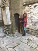 me small door