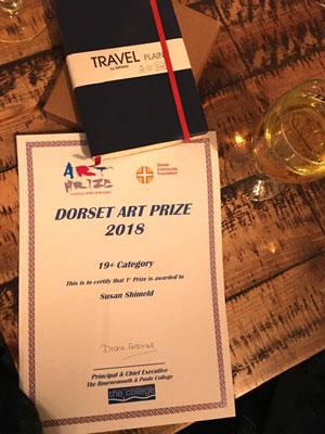 Dorset Art Prize 2018.