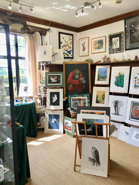Larmer Tree Studio Art Gallery.