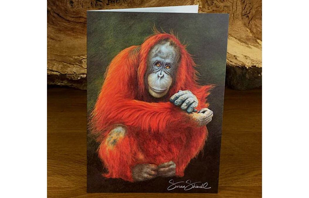 Amy Orangutan Card